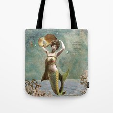 She loves the sea. Tote Bag