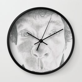 A Disguise Is Always A Self Portrait Wall Clock