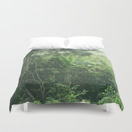 Green Paradise Duvet Cover