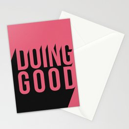 Doing Good Stationery Cards