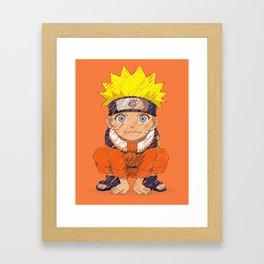 Naruto-chan Framed Art Print