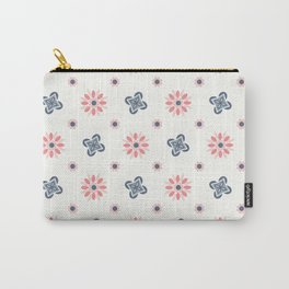 Seamless abstract floral pattern. 4 colors variations, pastel colors Carry-All Pouch