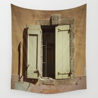 window Wall Tapestries featuring Window by Maria Heyens
