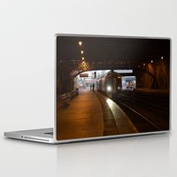 train Laptop & iPad Skins featuring Train by RMK Photography