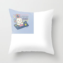 Surround Yourself with What Inspires You Throw Pillow