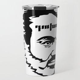Nikol Pashinyan duxov. Armenian revolution #society6 #decor #buyart #artprint Travel Mug