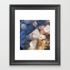 Quartz Crystal Framed Art Print