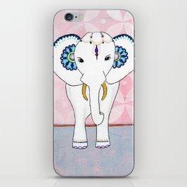 Spirit Elephant - Pink iPhone Skin
