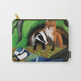 Of foxes and badgers Carry-All Pouch