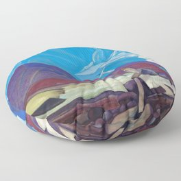 Nicholas Roerich - From Beyond - Digital Remastered Edition Floor Pillow