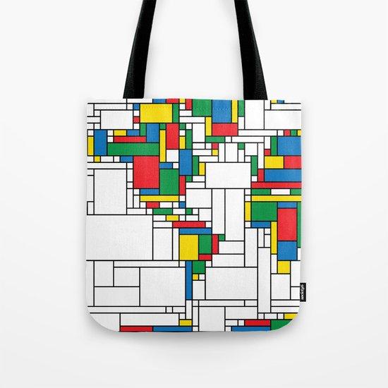 World Map - Modern Tote Bag