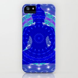 Blue Medicine Buddha Mandala iPhone Case