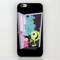 monsters inc iPhone & iPod Skins featuring Monsters inc. by Maria Jose Da Luz