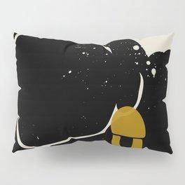 Black Hair No. 4 Pillow Sham
