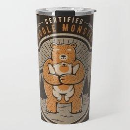 Certified Cuddle Monster Travel Mug