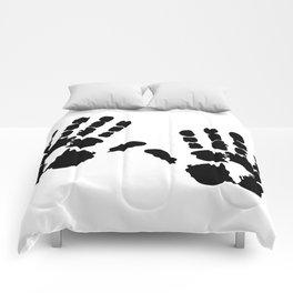 Hands  Prints Comforters