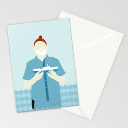 The Life Aquatic with Steve Zissou Stationery Cards