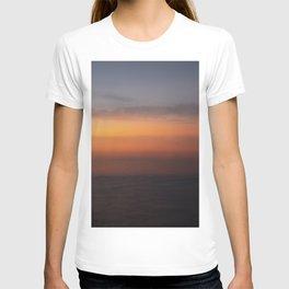 Blended Sunset Over the Bay, Rothko Inspired Exposure T-shirt