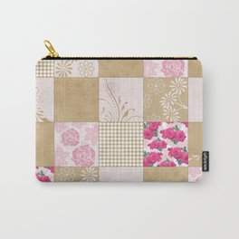 Spring Time - Patchwork Carry-All Pouch