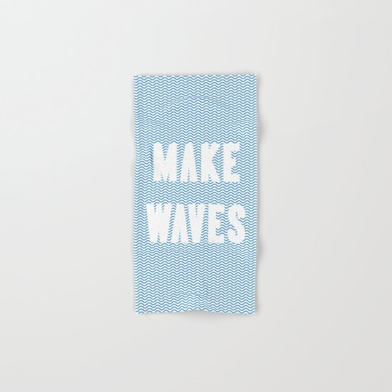 Make Waves Hand & Bath Towel