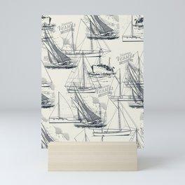 sailing the seas mode Mini Art Print