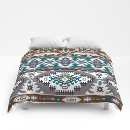 Modern Native American Pattern 5 Comforters