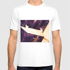 PRIEST White Mens Fitted Tee SMALL