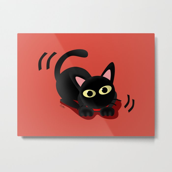 Playing with you Metal Print