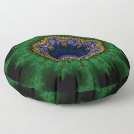Fractal Abstract 62 Floor Pillow