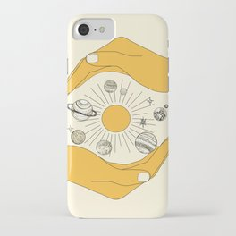 The Universe in Your Hands iPhone Case