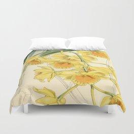 Dendrobium chrysotoxum Duvet Cover
