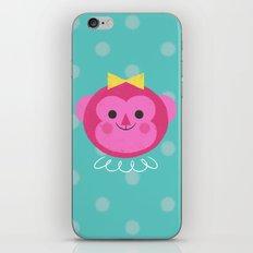 Dressy Monkey iPhone Skin