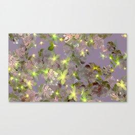 trellis trove lime Canvas Print