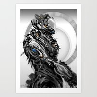 In the year 3000 Art Print
