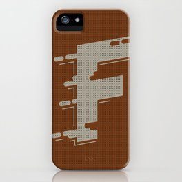 BOLD 'F' DROPCAP iPhone Case