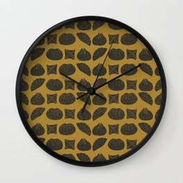 Darling Dumplings 2 Wall Clock