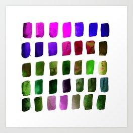 Brushstrokes 1s by Kathy Morton Stanion Art Print