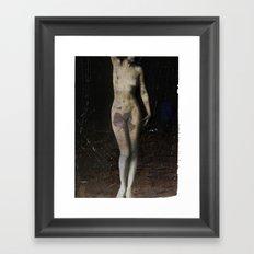 nude... Framed Art Print