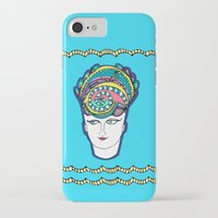 headdress iPhone & iPod Cases featuring Headdress by G.L.BEANS