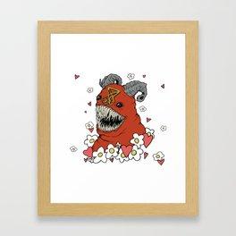 Lovey Devil Framed Art Print