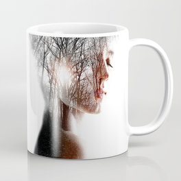 Thin Winter Sun. Coffee Mug