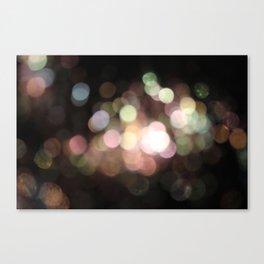 Bubbly Bokeh Canvas Print