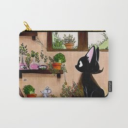 Suie and mouse Carry-All Pouch