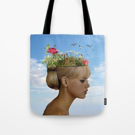The ideas grow here Tote Bag