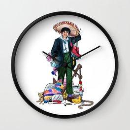 a little bit magpie Wall Clock