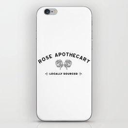 Rose apothecary. Rosebud motel. David Rose iPhone Skin