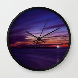 Nightlight  Wall Clock