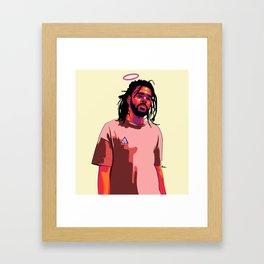 Jermaine Cole Framed Art Print