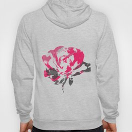 Rose is Red Abstract Hoody