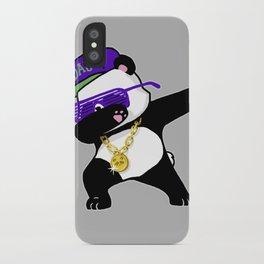 Dabbing Panda iPhone Case